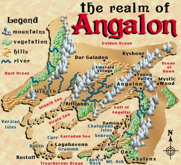 the realm of Angalon